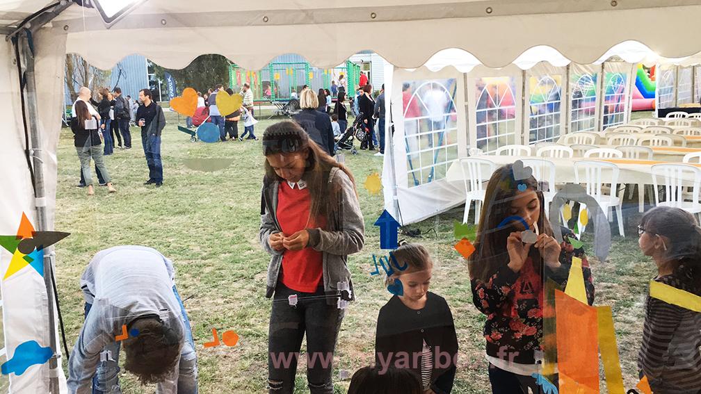 animation garden party avec enfants familles