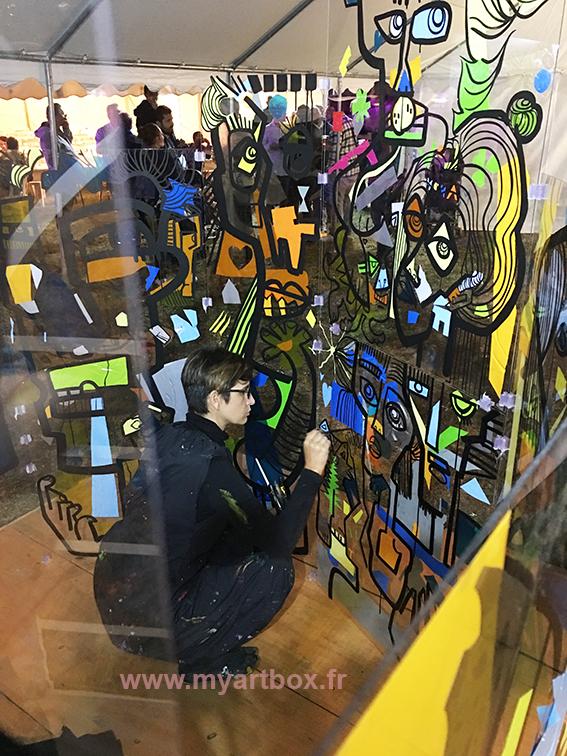 animation peinture fresque