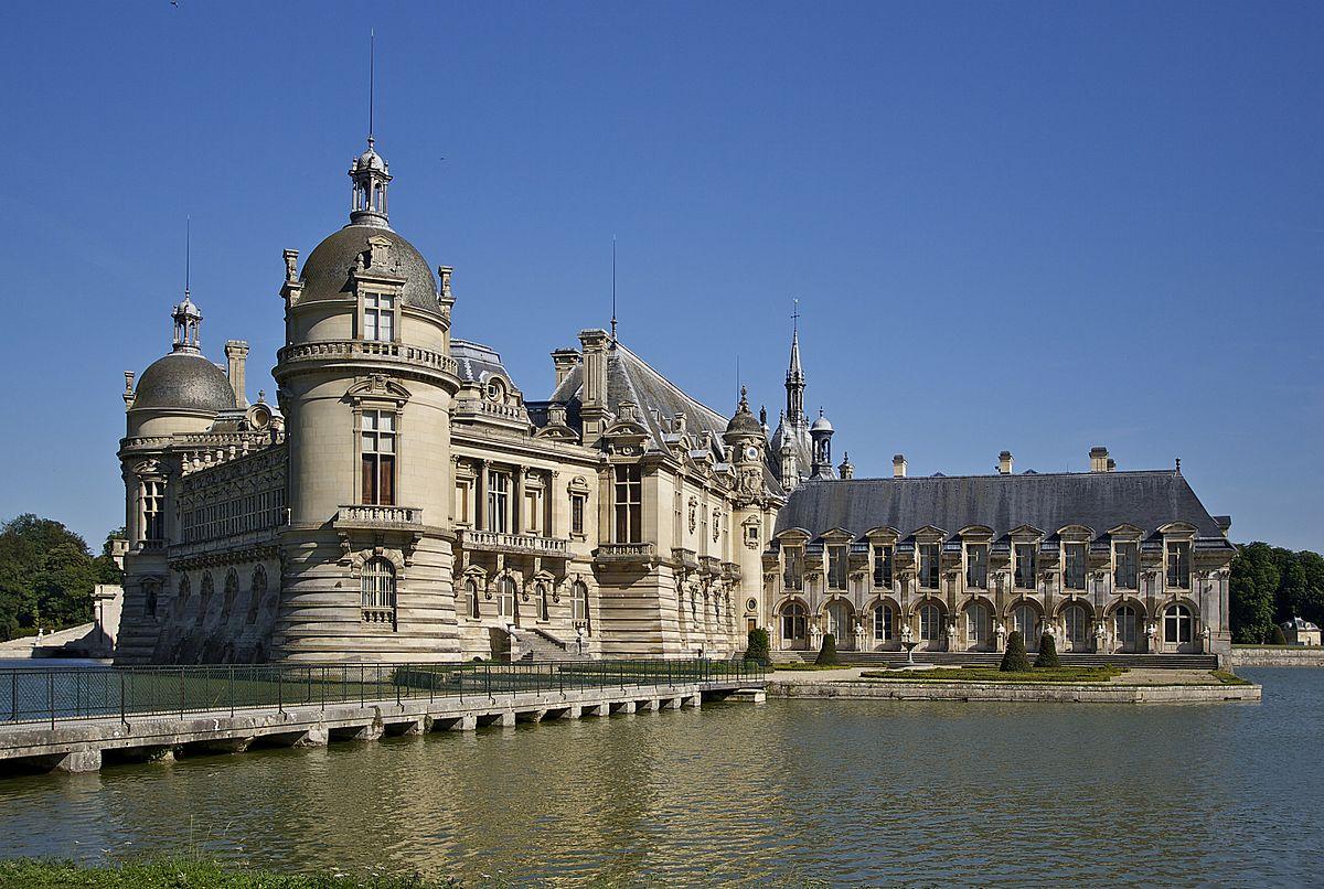 chateau chantilly pour séminaire