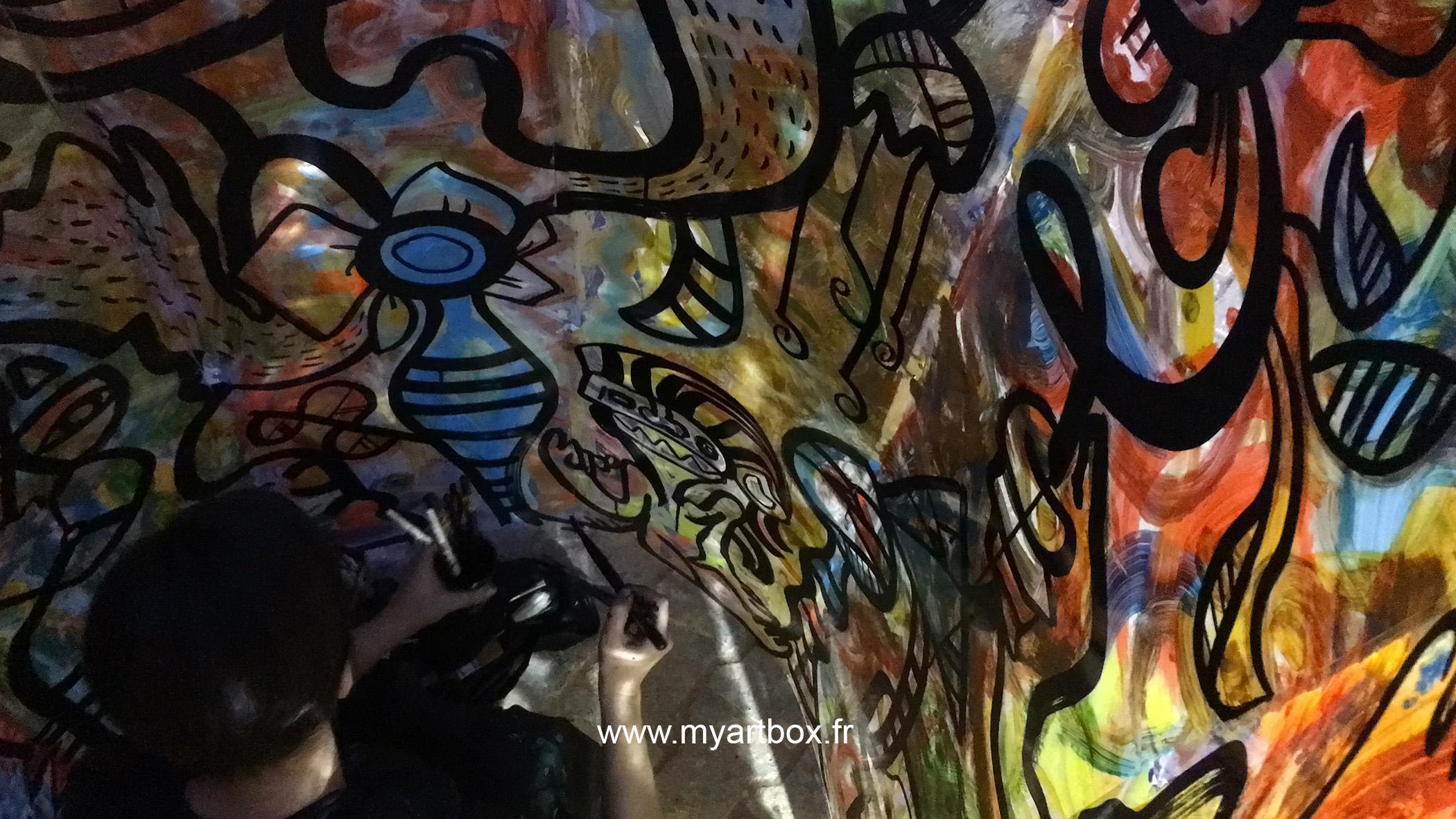 street artiste paris