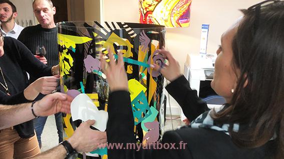 fresque sur évènement lyon