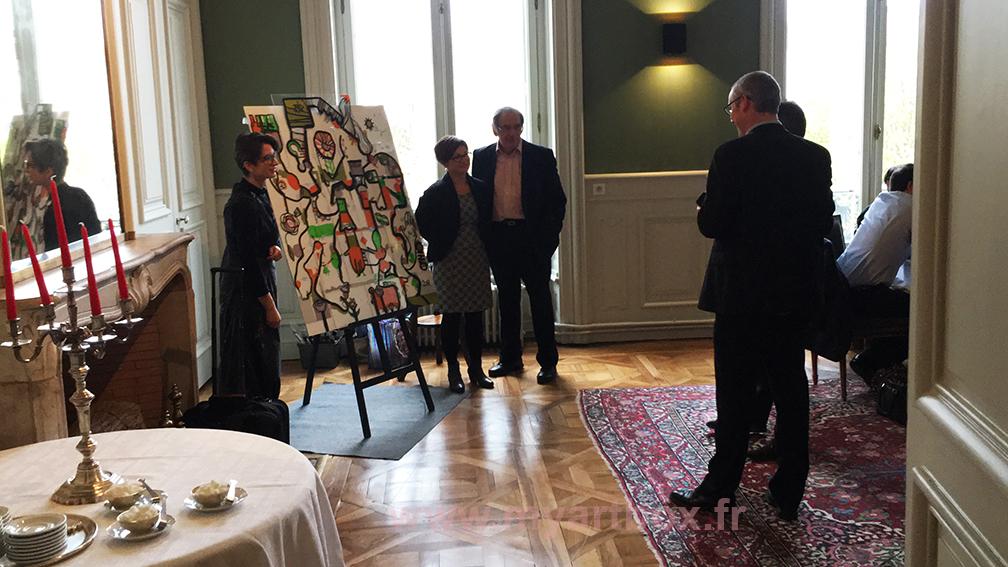 exposition fresque avec coach