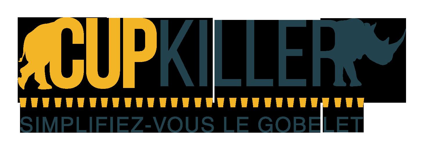 logo cupkiller verres personnalisables