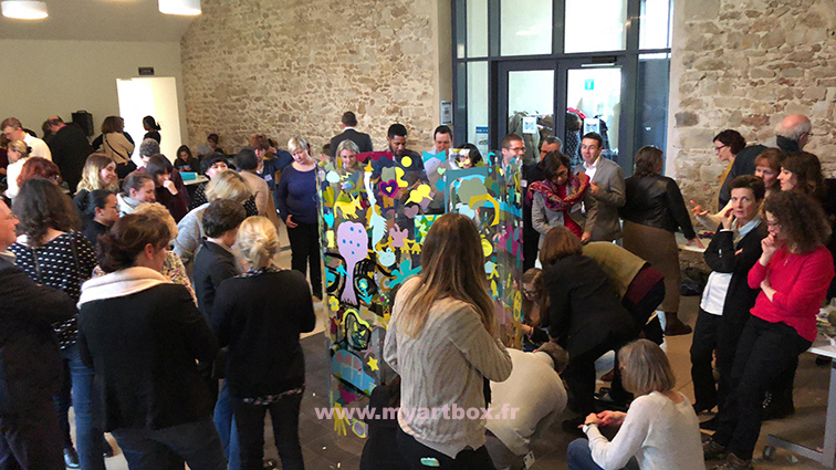 fresque team building